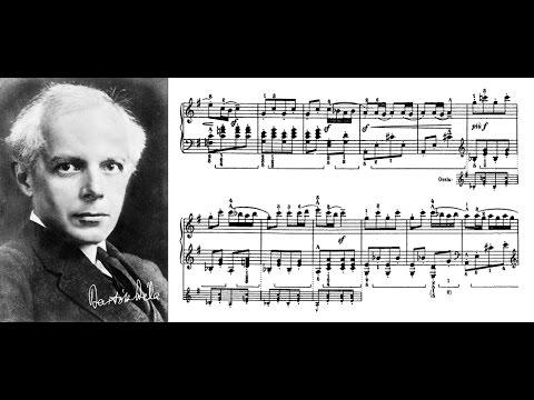 Béla Bartók plays his Romanian Folk Dances No. 1, 2 & 6