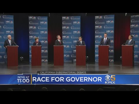 Adultery And Sexual Harassment Come Up At California Gubernatorial Debate