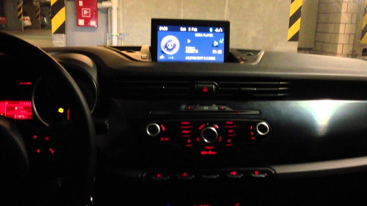 Alfa Romeo Giulietta >> Alfa Romeo Giulietta Quadrifoglio Verde Bose Sound System - YouTube