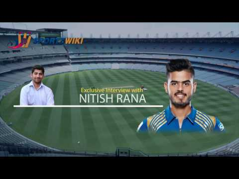 Exclusive Interview with Mumbai Indians Retained Player Nitin Rana- SportzWiki