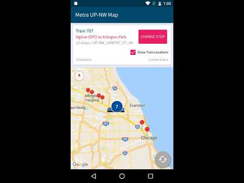 QuickTrack Chicago CTA Metra Apps on Google Play
