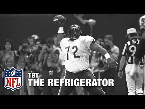 """William """"The Refrigerator"""" Perry & the Start of Big Man TDs 