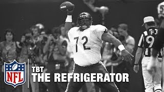 """William """"The Refrigerator"""" Perry & the Start of Big Man TDs   NFL Highlights"""
