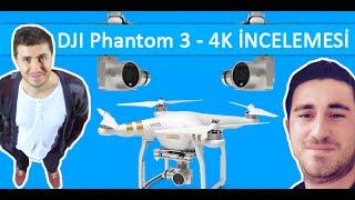 Dji phantom 3 pro (4k) İncelemesi ve uçuş testi