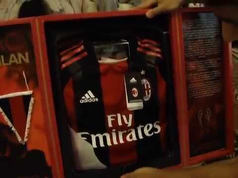 Unboxing Adidas AC Milan TechFit Special Edition Jersey