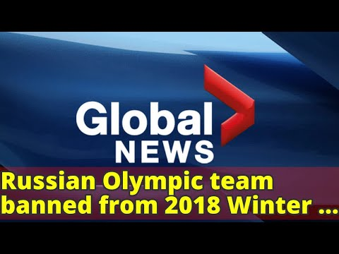 Russian Olympic team banned from 2018 Winter Games over doping scandal