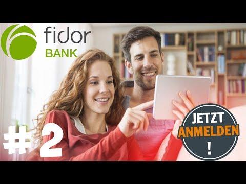 FIDOR BANK ANMELDUNG  | ONLINE KONTO ERÖFFNEN