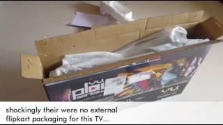 "Vu TV (32""HD Ready) 32K160M RevD Unboxing & initial impression (Full HD 1080p)"