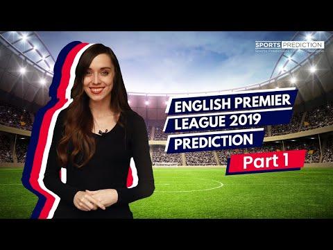 Soccer Prediction | English Premier League 2019 Part 1 Predictions