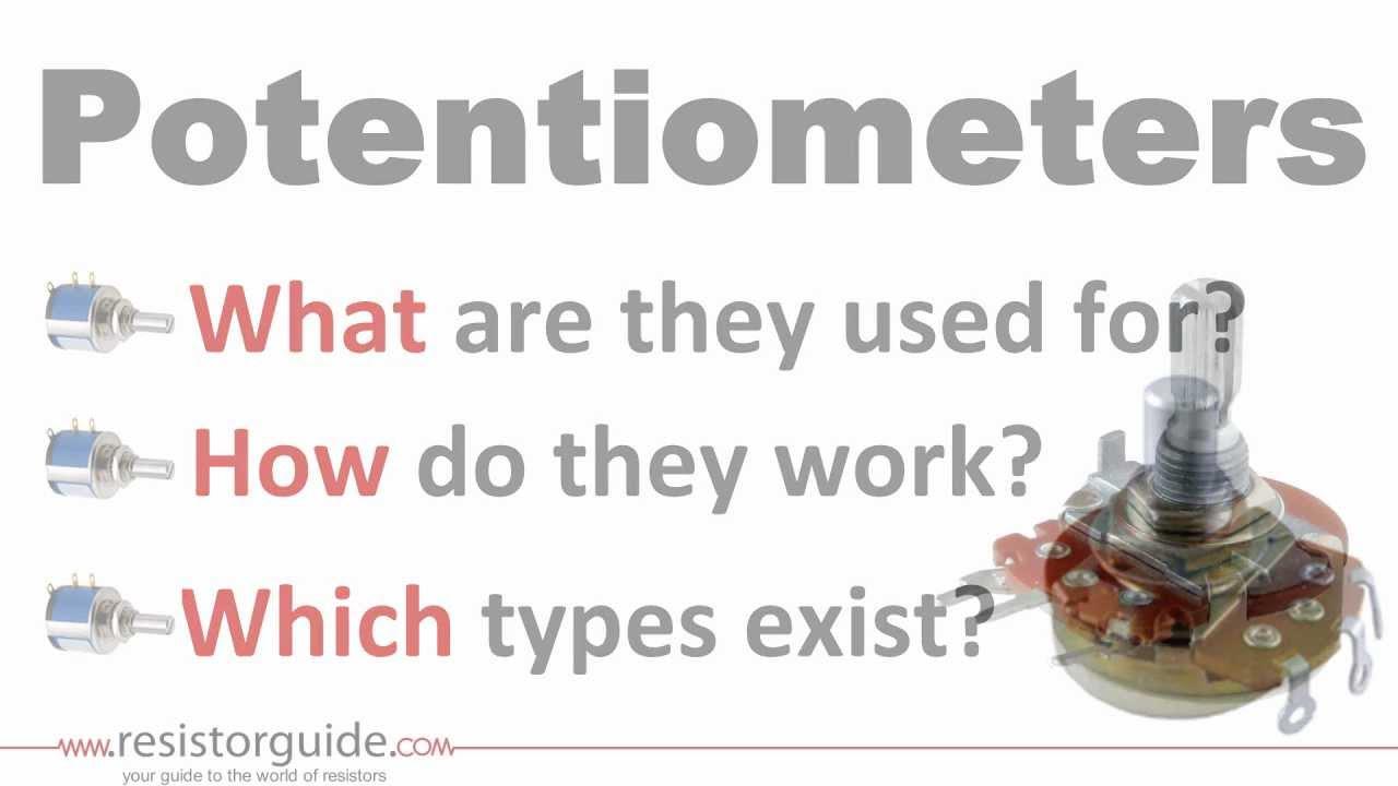 Potentiometer Resistor Guide