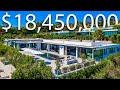 INSIDE A $18,850,000 MODERN BEVERLY HILLS MEGA MANSION | Los Angeles Mansion Tour