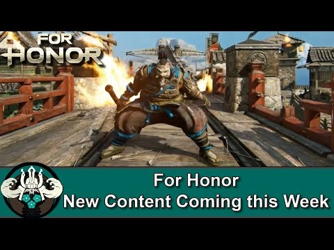 For Honor | New Free Content Arriving This Week on PC, PS4, and Xbox One