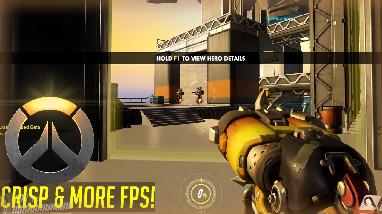 Increase FPS with Crispy Low Settings in Overwatch