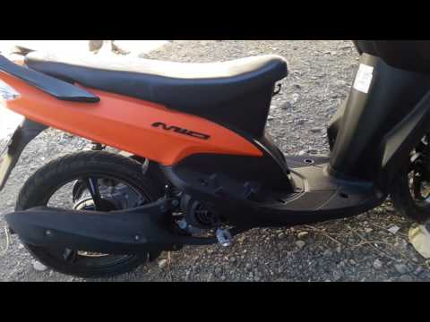 Yamaha mio sporty matte orange