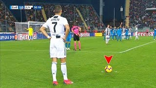 Cristiano Ronaldo's MASTERPIECE Free Kicks That SHOCKED The World