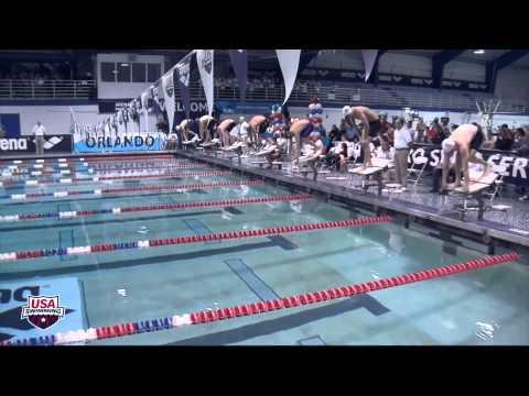 Ryan Lochte Wins 200IM in Orlando -- Arena Performance of the Month