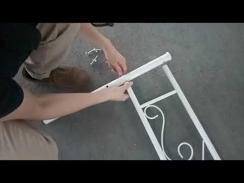 one --SimLife Twin Size Metal Bed Frame
