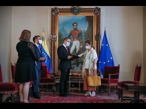 Venezuela expulsa embaixadora da União Europeia e ensina lição de soberania ao Brasil.