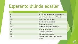 Esperanto dilinde edatlar