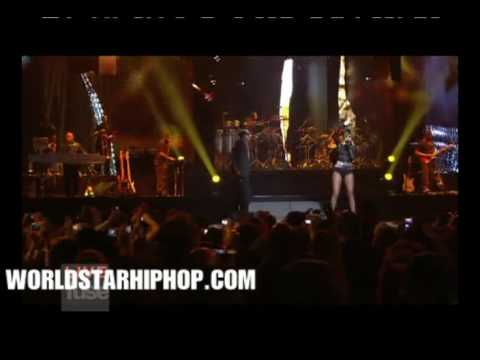 Video  Jay Z & Rihanna Performing  Run This Town    Kanye West Performs Can't Tell Me Nothing At Jay Z's Live From Madison Square Garden Concert!