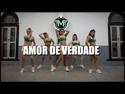 AMOR DE VERDADE - Mc kekel ft Mc Rita - COREOGRAFÍA - PAULA AMOEDO & #MARAVILHOSAS