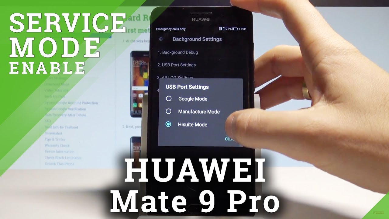 How to Enter Project Menu on HUAWEI Mate 9 Pro - Hidden Mode / Service Menu  |HardReset Info