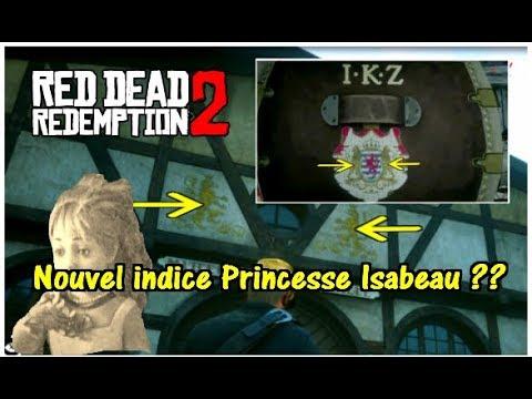 Nouvel indice Princesse Isabeau ?? RED DEAD REDEMPTION 2