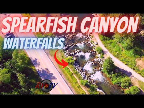 Scenic Spearfish Canyon Drive - Bridal Veil Falls - HWY 14A