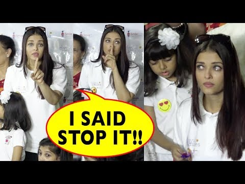 Thumbnail: Aishwarya Rai Bachchan Cries Badly And Lashes Out At Media For Misbehaving With Daughter Aaradhya