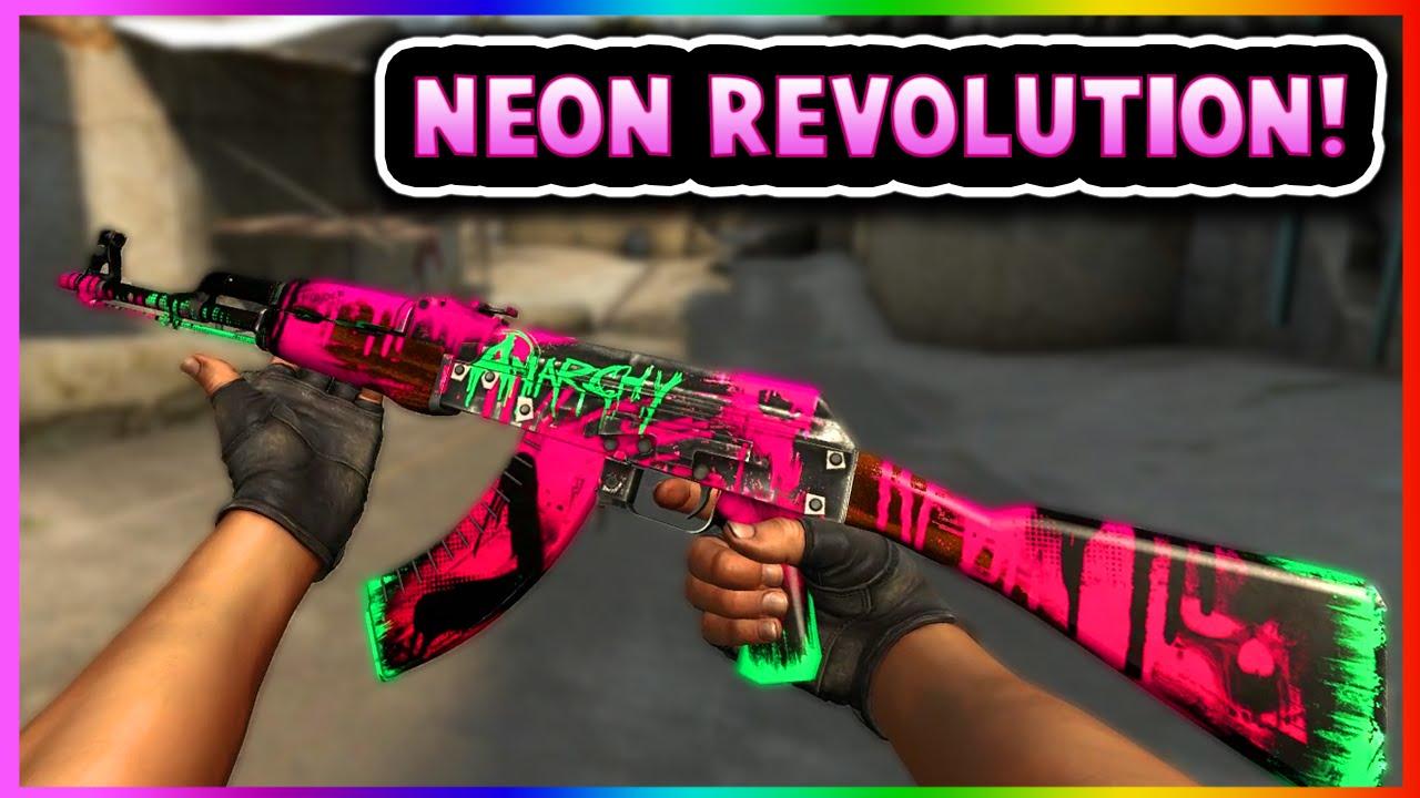 csgo ak47 neon revolution gameplay famas roll cage gameplay cs go