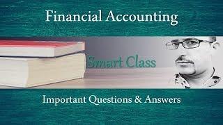 #54 Smart Class: Financial Accounting | Tally 9.0 ERP | MCQ | Q&A | BCA | MCA | HPSSSB | Zero2ninE