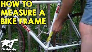 How To Measure A Bike Frame thumbnail