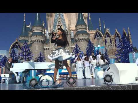 Ariana Grande-Zero To Hero- Disney Parks-Unforgettable Christmas Celebration