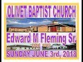 060318 Olivet Baptist Church Live Sunday Worship