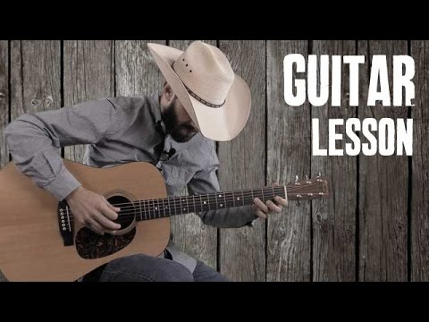 How To Play Country Bluegrass Licks Over Cripple Creek Chord