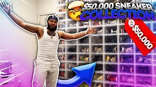 MY $50,000 SNEAKER COLLECTION