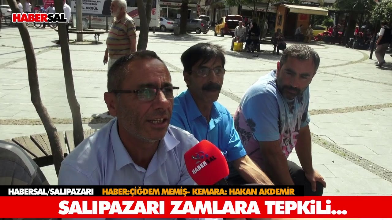 SALIPAZARI ZAMLARA TEPKİLİ!