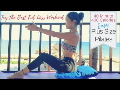 Best Plus Size Pilates For Fat Loss | Full Length Total Body Pilates Mat Class On Request