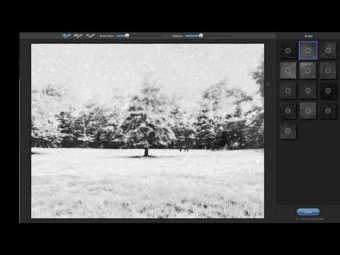 Create a Surreal Snow Scene