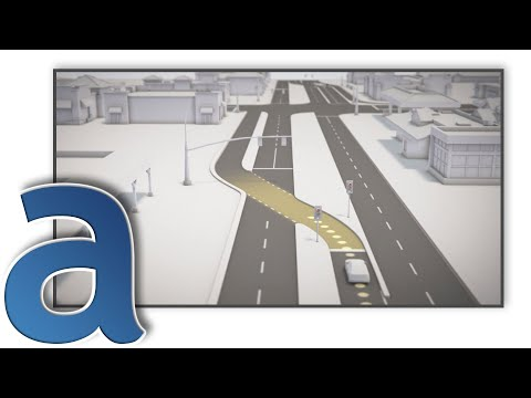 Continuous Flow Intersection (CFI) Tutorial for UDOT