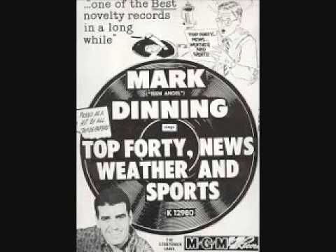 Mark Dinning - Top Forty, News, Weather and Sports (1961)
