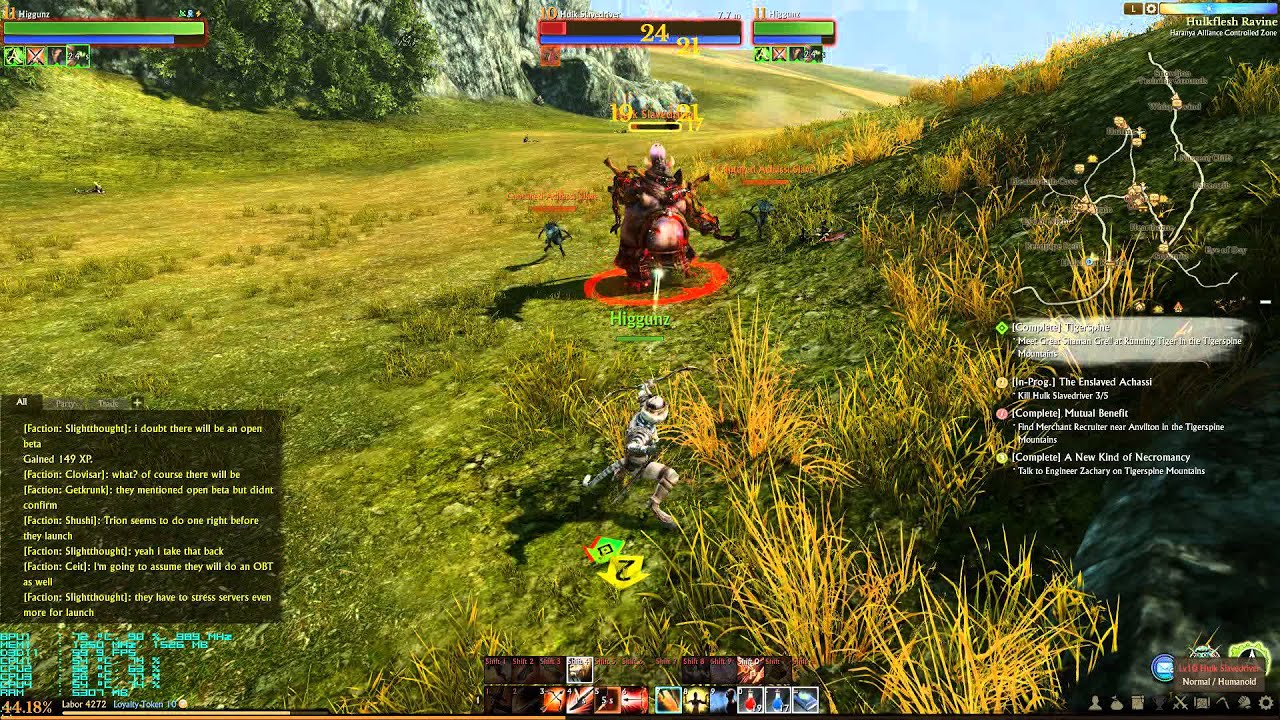 How To Set Ultra Graphics: ArcheAge Firran Archer Gameplay 1080p Ultra Graphics