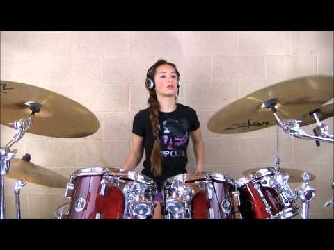 Surfin' Safari Drum Cover by  Katie