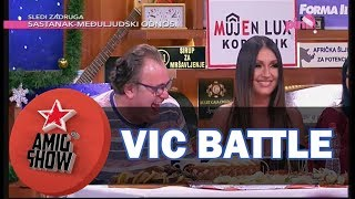 Vic Battle - Edin Adilović i Ognjen Amidžić (Ami G Show S10)