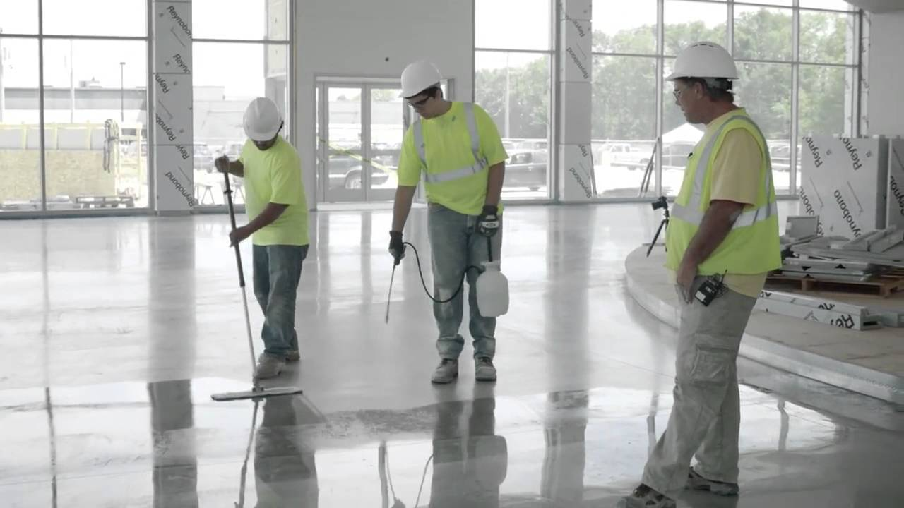 How To Densify Polished Concrete With Prosoco Consolideck