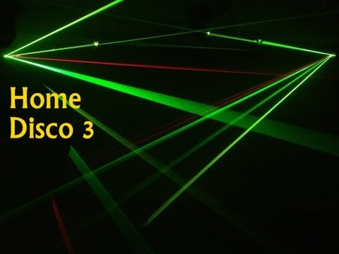 Home Disco Lights synchronized to Music 3, Scanners, Moving Heads, Lasers, DMX controlled
