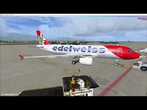 FSLabs A320-X Flight: Full Flight Geneva (LSGG) to Nice (LFMN) with commentary