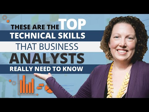 These are the Top Technical Skills that Business Analysts Re
