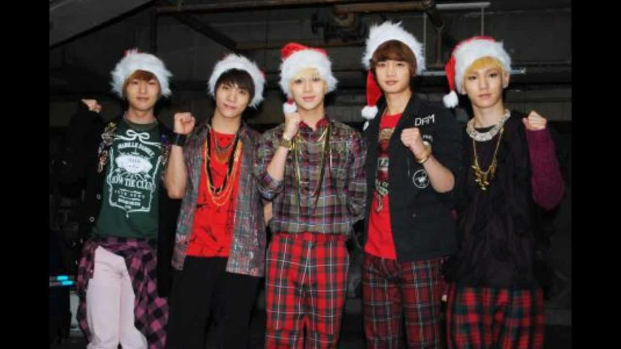 SHINEE - LAST CHRISTMAS LYRICS