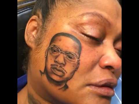 Image result for phor womans face tattoo